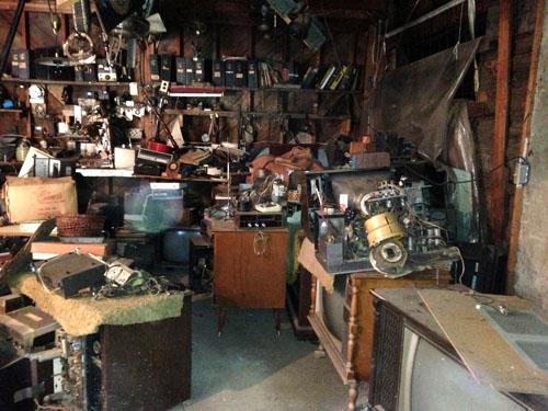 A Grandpa garage