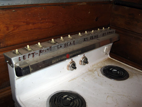 C stove